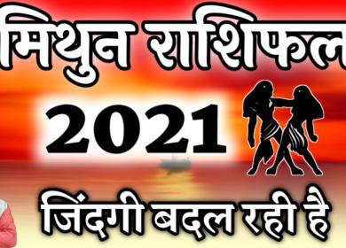 मिथुन राशिफल 2021 इस साल आपके लिए रहेगा शानदार,सभी क्षेत्रों में मिलेगी सफलता