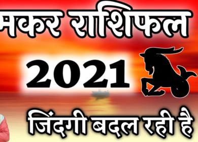 मकर राशिफल 2021 में बेहतरीन अवसर मिलेंगे